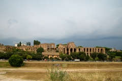 Palatine-Hill-with-a-soft-sky-Rome-Italy